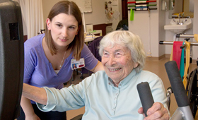 Mountainside Residential Care Center Earns Women's Choice Award as One of 'America's Best' Nursing Homes